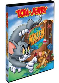 DVD Tom a Jerry kolem světa - 13x19