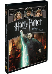 DVD Harry Potter a Relikvie smrti - část 2.