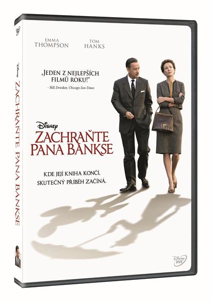 DVD Zachraňte pana Bankse - John Lee Hancock - 13x19