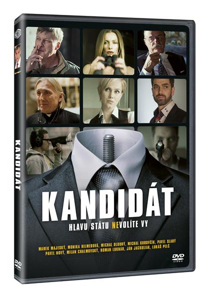 DVD Kandidát - Jonáš Karásek - 13x19