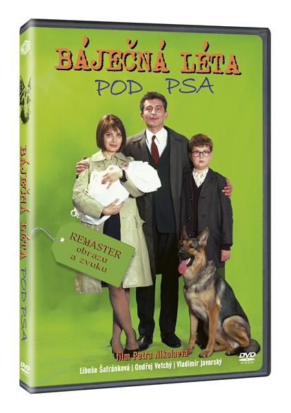 DVD Báječná léta pod psa - Petr Nikolaev - 13x19