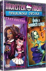 DVD Monster High: Frikulínská dvojka