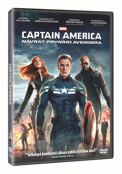 DVD Captain America: Návrat prvního Avengera - Anthony Russo, Joe Russo - 13x19