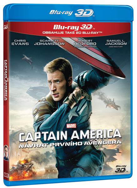 Captain America: Návrat prvního Avengera 2 Blu-ray 3D+2D - Anthony Russo, Joe Russo - 13x19