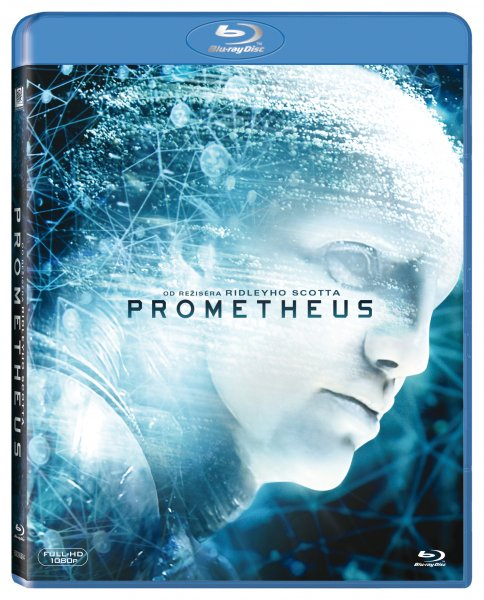 Prometheus Blu-ray - Ridley Scott - 13x19