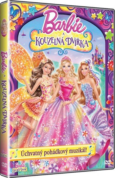 DVD Barbie a Kouzelná dvířka - Walt Disney - 13x19