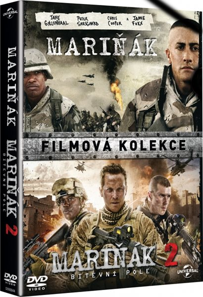 Kolekce Mariňák 1+2 (2 DVD) - Don Michael Paul - 13x19