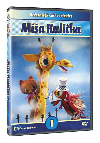 DVD Míša Kulička 1 - Libuše Koutná - 13x19