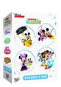 Mickeyho klubík kolekce 4 DVD