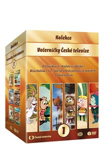Večerníčky České televize kolekce 6 DVD