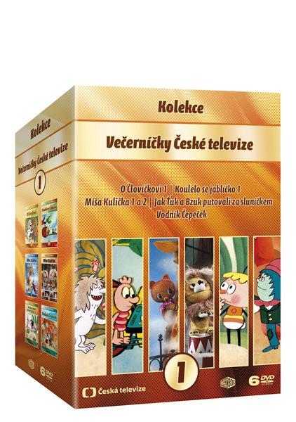 Večerníčky České televize kolekce 6 DVD - 13x19
