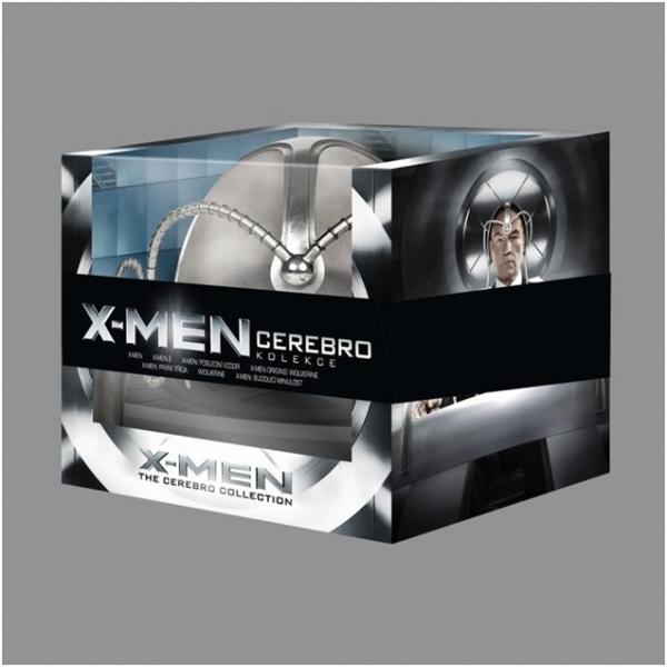 X-Men: Cerebro Doors kolekce / 8 Blu-ray, Doprava zdarma