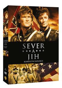Sever a jih 1.-3. kolekce 8 DVD