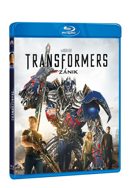 Transformers: Zánik (2 Blu-ray 2D + bonus BD) - Michael Bay - 13x19