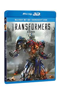 Transformers: Zánik (3 Blu-ray 3D + 2D + bonus BD)