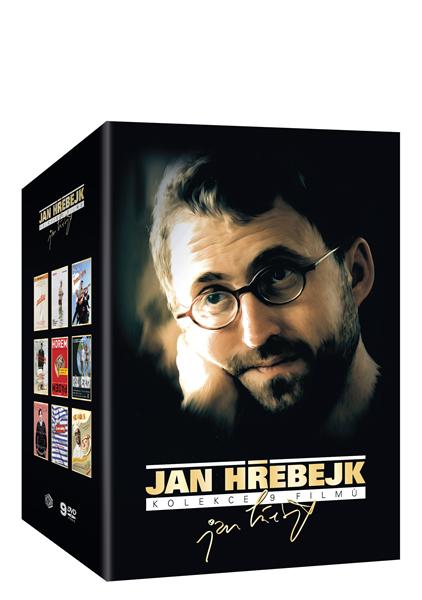 Kolekce filmů Jana Hřebejka 9 DVD - Jan Hřebejk - 13x19