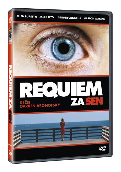 DVD Requiem za sen - Darren Aronofsky - 13x19