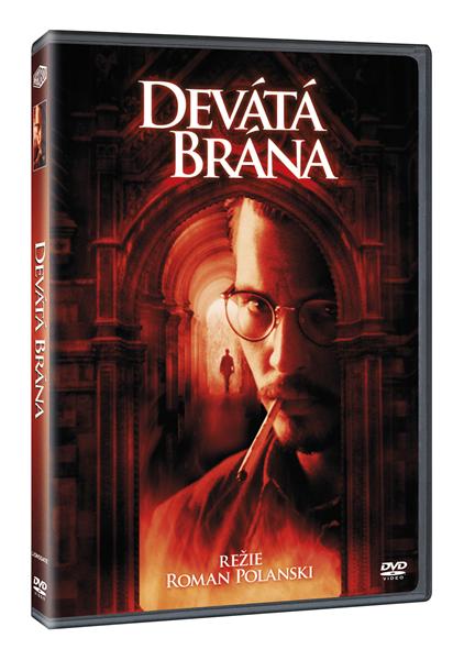 DVD Devátá brána - Roman Polanski - 13x19