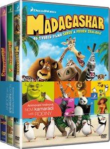 Madagaskar kolekce 1-3 DVD