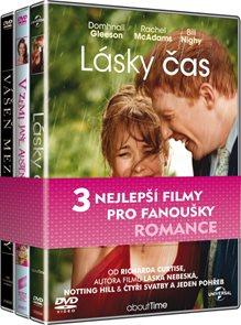 Kolekce Romantické filmy (Lásky čas, V zemi Jane Austenové, Vášeň mezi řádky)