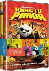 Kung Fu Panda 1+2 2 DVD