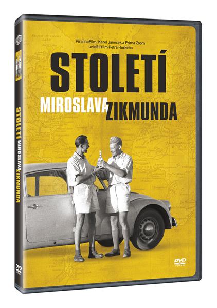 DVD Století Miroslava Zikmunda - Miroslav Zikmund, Jiří Hanzelka - 13x19