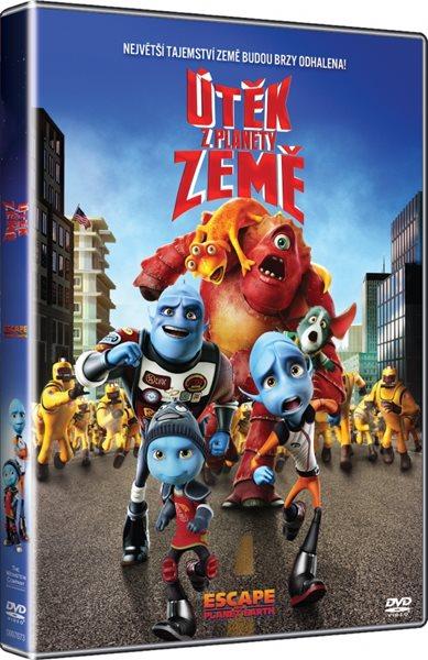 DVD Útěk z planety Země - 13x19