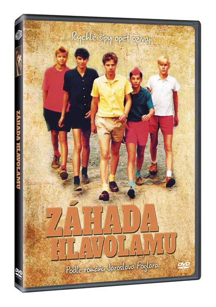 DVD Záhada hlavolamu - Petr Kotek - 13x19