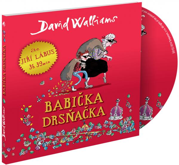 CD Babička drsňačka - David Walliams - 13x14