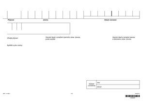 Obálka záznamů poliklinického oddělení TRN