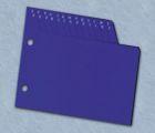 ADK Dělící listy A-Z modré A5 (13 ks)