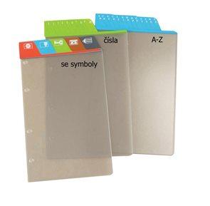 ADK Dělící listy se symboly A5 (5 ks)