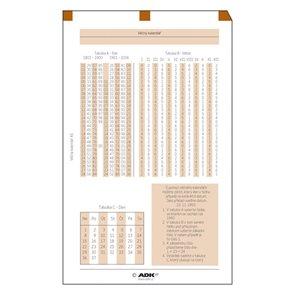 ADK Věčný kalendář A6