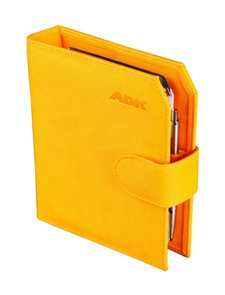 ADK Diář Praktik A6 2020 - žlutý
