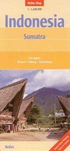 Indonésie - Sumatra - mapa Nelles - 1:1 500 000