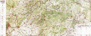 Slovenská republika - 1:250 000 - nástěnná mapa /VKÚ/