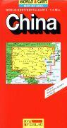 Čína - mapa RV 1:4M