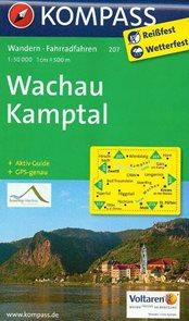 Wachau, Nibelungengau - mapa Kompass č.207 - 1:50t /Rakousko/