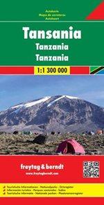 Tanzania - mapa FR 1:1,3M