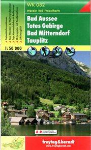 Bad Aussee, Totes Gebirge, Bad Mittendorf, Tauplitz - WK082 - 1:50t /Rakousko/
