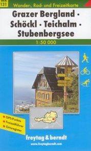 Grazer Bergland, Schlckl, Teichalm, Stubenberge - mapa WK131 - 1:50t /Rakousko/