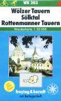 Wlzer Tauern - mapa WK č.203 - 1:50t /Rakousko/