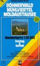 Bhmerwald /Šumava/, Mühlviertel, Moldaustausee - mapa WK262 - 1:50t /Rakousko,Německo,Česká republik