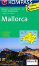 Mallorca - mapa Kompass č.230 - 1:75 000 /Španělsko,Baleárské o./