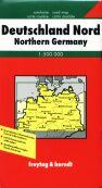 Německo - sever - mapa FR 1:50