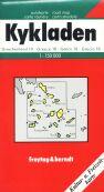 Řecko - Kyklady - mapa FR 1:150 000