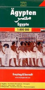 Egypt - mapa Freytag - 1:800 000
