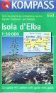 Itálie - Elba - mapa Kompass č.650 - 1:30 000