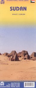 Sudan - mapa ITM 1:2,7M