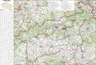 Nástěnná mapa Ústecký kraj 1:130 000 150 x 97 cm